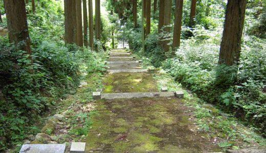 室山熊野神社は星野村に!近くの「船着き岩」の伝説も紹介