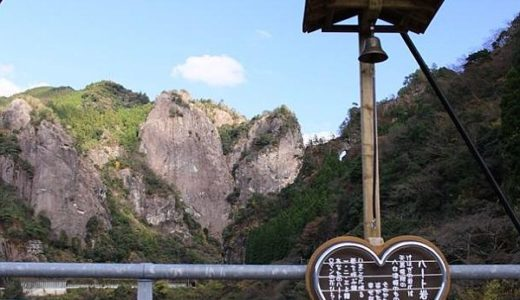 日向神峡は神様も感動したパワースポット!蹴洞岩とハート岩を紹介
